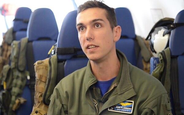 Demonstration Quickstrike Onboard P-8A - Interview LT Ken Flannery