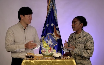 Osan Celebrates Air Force Birthday - Korean Style