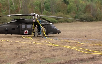 Downed Aircraft Recovery Team Training