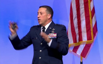 2018 Air Space & Cyber Conference: Air Force Personnel Update