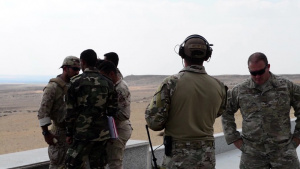 U.S. Air Force JTAC Train with Partner Nations