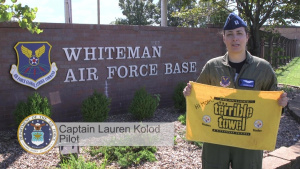 Whiteman Air Force Base Steelers Shout-out