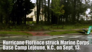 Marine Corps Base Lejeune Aerial Fly Over
