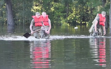 SC Soldiers Conduct High Water Operations
