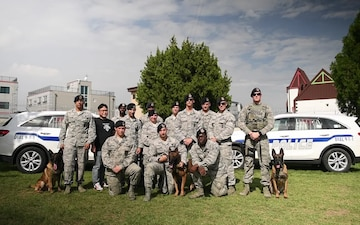 51st Military Working Dog, Group Shout Out - Jacksonville Jaguars