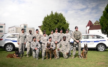 51st Military Working Dog, Group Shout Out - New Orleans Saints
