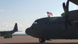 39th Airlift Squadron Returns from Deployment no narration