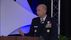 General Holmes speaks at LCID 2018
