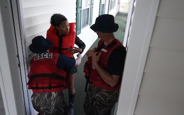 Coast Guard response to Hurricane Florence in South Carolina