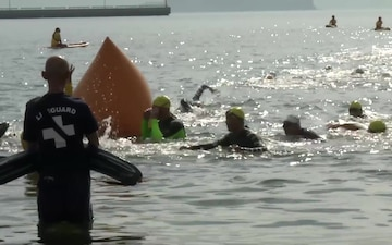 MCAS Iwakuni residents, local Japanese community compete in MCAS Iwakuni Triathlon (Package/Pkg)