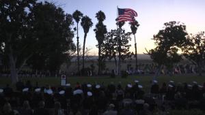 Marine Corps Base Camp Pendleton Evening Colors Ceremony