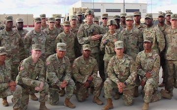 A message from the commander of the 1st Armored Division Sustainment Brigade addressing readiness if called upon to support Florence relief efforts