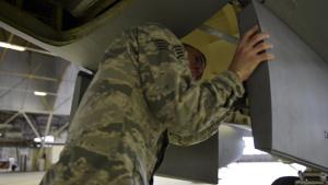 Fairchild Innovates - KC-135 Nose Door