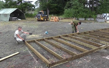 Building a Sand Shed