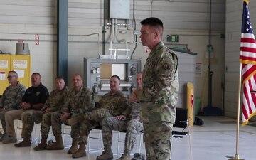 Promotion of Col. Ricky Smith