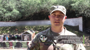 Soldiers of 7th Infantry Division - Spc. Jerald Mayhugh