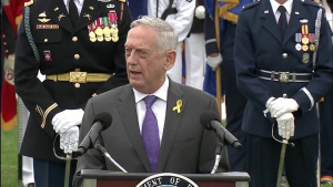 Defense Secretary Hosts National POW/MIA Recognition Day Ceremony at Pentagon