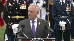 Defense Secretary Hosts National POW/MIA Recognition Day Ceremony at Pentagon