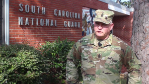 SC State Command Sgt. Major Interview about relief efforts