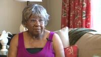 Hurricane Survivor Receives Assisance - Interview with Sadie McAllister