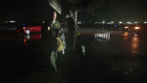 B-1B Lancer Prepares for Flight Operations during Valiant Shield