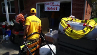 B-roll_NC Baptist on a Mission_Disaster Recovery, flood damage floors