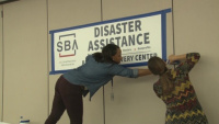 Broll_Disaster Recovery Center, Fayetteville, NC; Hurricane Florence