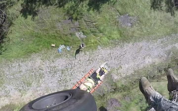 New York Army National Guard Soldiers Conduct Rescue
