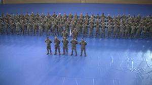 Air Assault Course Graduation Ceremony