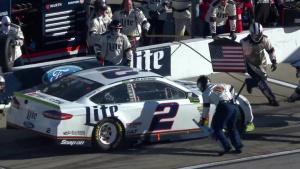NASCAR Driver Brad Keselowski Visits Whiteman Air Force Base