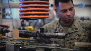Marines Keep Weapons On Target