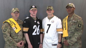 pittsburgh steelers shoutout- Christian Sabados, Michael Cross, Brian Palazzolo, Christopher Case