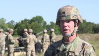 160th Field Artillery live fire new artillery systems