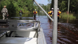 SC National Guard works alongside Florida Task Force Two in joint search and rescue missions