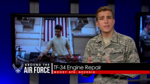 Around the Air Force: J-PEAT / TF-34 Engine Repair / Officer Continuation Board