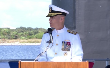 Commissioning of USS Indiana