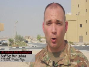 Al Udeid's Weather Flight essential for warfighters downrange