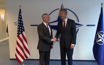 Meetings of NATO Defence Ministers: Bilateral Meeting with Secretary of Defense