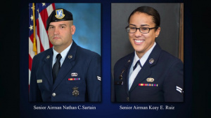 Hanscom Gates Renamed for Fallen Airmen