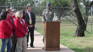 60 Seconds or Less: Dyess Memorial Expansion Ground Breaking