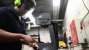 Metals tech Airmen weld mission success