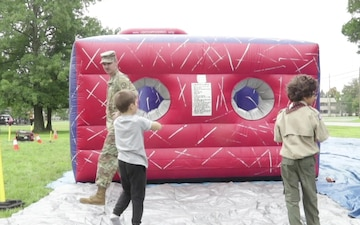 Maryland Guard soldiers provide community outreach