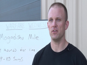 193rd SOSFS Host Mogadishu Mile Workout