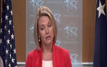 Department Press Briefing with Spokesperson Heather Nauert