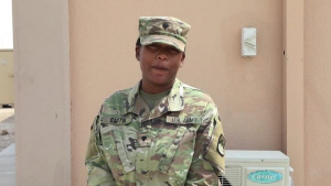 SPC Ciara Smith-25th Signal Battalion-Army v. Navy Game Shout Out-Watch Stadium