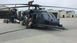 106th Rescue Wing prepares to deploy for Hurricane Michael response