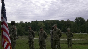 Mass Reenlistment at Minute Man Park