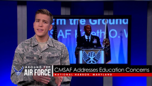 Around the Air Force: CMSAF Talks Education / MH-139 Contract