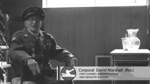 Corporal David Marshall's 94th Birthday
