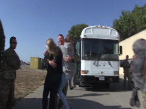 California Air National Guardsmen returns home from deployment